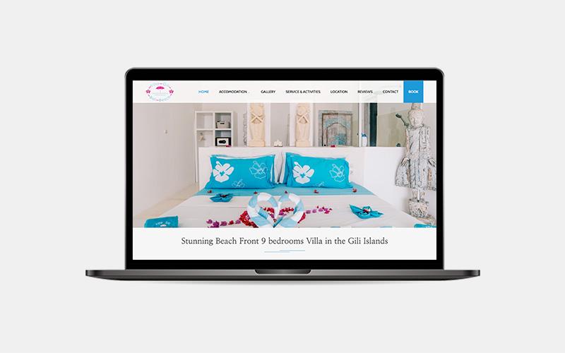 villa-gili-bali-beach-laptop